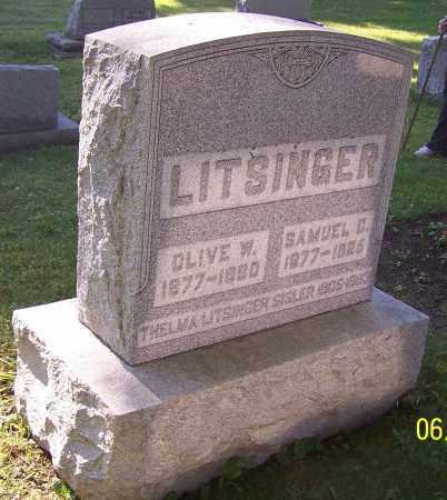 LITSINGER, OLIVE W. - Stark County, Ohio | OLIVE W. LITSINGER - Ohio Gravestone Photos
