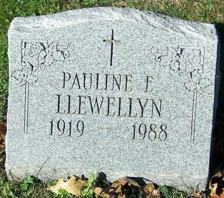 LLEWELLYN, PAULINE E. - Stark County, Ohio | PAULINE E. LLEWELLYN - Ohio Gravestone Photos