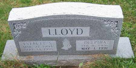LLOYD, DELPHIA - Stark County, Ohio | DELPHIA LLOYD - Ohio Gravestone Photos