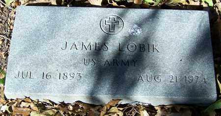 LOBIK, JAMES - Stark County, Ohio | JAMES LOBIK - Ohio Gravestone Photos