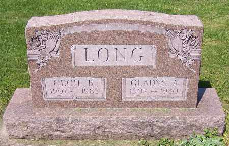 LONG, CECIL B. - Stark County, Ohio | CECIL B. LONG - Ohio Gravestone Photos