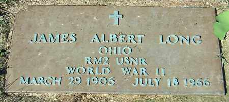 LONG, JAMES ALBERT - Stark County, Ohio | JAMES ALBERT LONG - Ohio Gravestone Photos