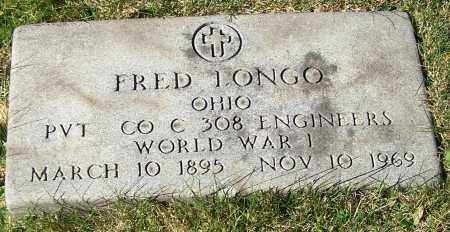 LONGO, FRED - Stark County, Ohio | FRED LONGO - Ohio Gravestone Photos