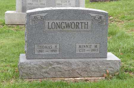 LONGWORTH, MINNIE M. - Stark County, Ohio | MINNIE M. LONGWORTH - Ohio Gravestone Photos