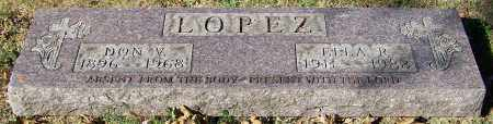 LOPEZ, ELLA R. - Stark County, Ohio | ELLA R. LOPEZ - Ohio Gravestone Photos