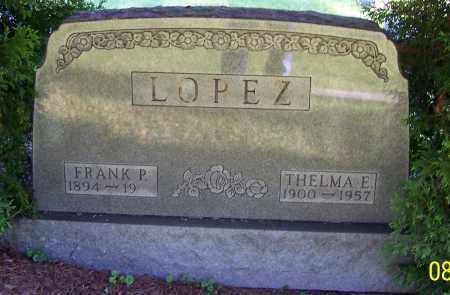 LOPEZ, THELMA E. - Stark County, Ohio | THELMA E. LOPEZ - Ohio Gravestone Photos