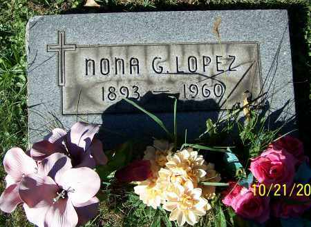 LOPEZ, NONA G. - Stark County, Ohio | NONA G. LOPEZ - Ohio Gravestone Photos