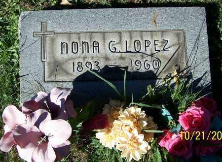 LOPEZ, NONA G. - Stark County, Ohio   NONA G. LOPEZ - Ohio Gravestone Photos