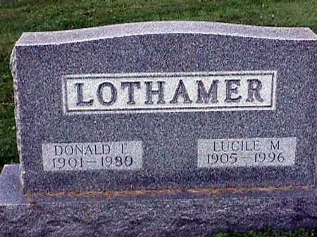 RAYOT LOTHAMER, LUCILE M. - Stark County, Ohio | LUCILE M. RAYOT LOTHAMER - Ohio Gravestone Photos