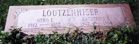 LOUTZENHISER, OTHO E. - Stark County, Ohio | OTHO E. LOUTZENHISER - Ohio Gravestone Photos