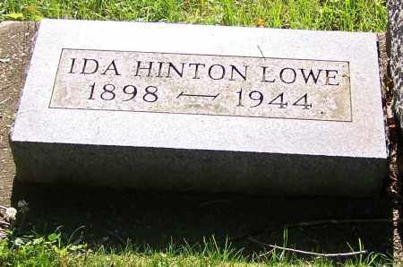 LOWE, IDA HINTON - Stark County, Ohio | IDA HINTON LOWE - Ohio Gravestone Photos