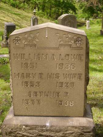 LOWE, WILLIAM ALEXANDER - Stark County, Ohio | WILLIAM ALEXANDER LOWE - Ohio Gravestone Photos