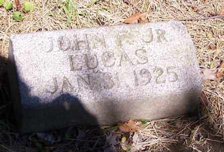 LUCAS, JOHN F. (JR) - Stark County, Ohio | JOHN F. (JR) LUCAS - Ohio Gravestone Photos
