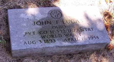 LUCAS, JOHN F. - Stark County, Ohio | JOHN F. LUCAS - Ohio Gravestone Photos