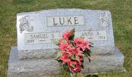 LUKE, SAMUEL S - Stark County, Ohio | SAMUEL S LUKE - Ohio Gravestone Photos