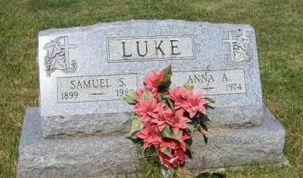 LUKE, ANNA A - Stark County, Ohio | ANNA A LUKE - Ohio Gravestone Photos