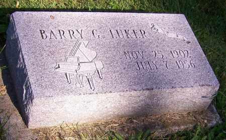 LUKER, BARRY G. - Stark County, Ohio | BARRY G. LUKER - Ohio Gravestone Photos