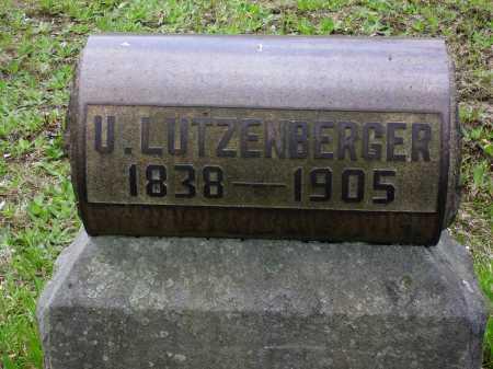 LUTZENBERGER, U. - Stark County, Ohio | U. LUTZENBERGER - Ohio Gravestone Photos