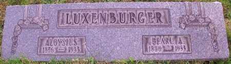 LUXENBURGER, ALOYSIUS - Stark County, Ohio | ALOYSIUS LUXENBURGER - Ohio Gravestone Photos