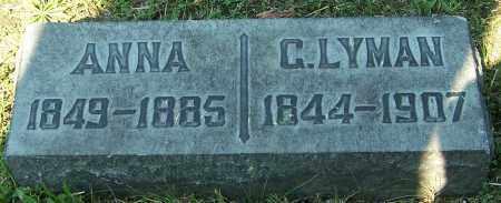 LYMAN, ANNA - Stark County, Ohio | ANNA LYMAN - Ohio Gravestone Photos