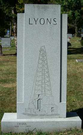 LYONS, FRANK - Stark County, Ohio | FRANK LYONS - Ohio Gravestone Photos
