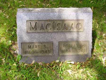 MACISAAC, MARY B. - Stark County, Ohio | MARY B. MACISAAC - Ohio Gravestone Photos