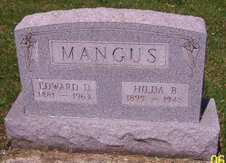 MANGUS, HILDA B. - Stark County, Ohio | HILDA B. MANGUS - Ohio Gravestone Photos