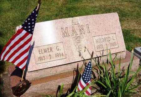 WAMPFLER MANI, MILDRED L. - Stark County, Ohio | MILDRED L. WAMPFLER MANI - Ohio Gravestone Photos