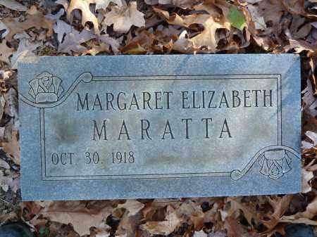 MARATTA, MARGARET ELIZABETH - Stark County, Ohio | MARGARET ELIZABETH MARATTA - Ohio Gravestone Photos
