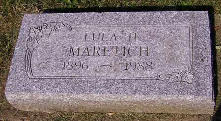 MARETICH, LULA H. - Stark County, Ohio | LULA H. MARETICH - Ohio Gravestone Photos