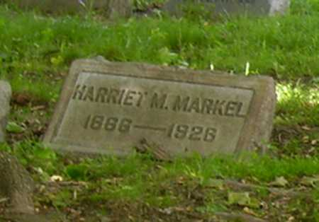 MARKEL, HARRIET M. - Stark County, Ohio | HARRIET M. MARKEL - Ohio Gravestone Photos