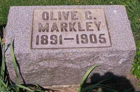 MARKLEY, OLIVE C. - Stark County, Ohio | OLIVE C. MARKLEY - Ohio Gravestone Photos