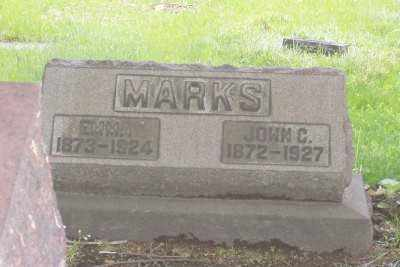 HOSE MARKS, EMMA - Stark County, Ohio | EMMA HOSE MARKS - Ohio Gravestone Photos