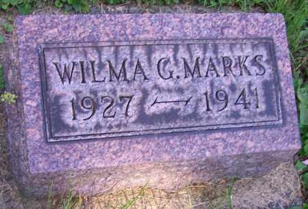 MARKS, WILMA G. - Stark County, Ohio | WILMA G. MARKS - Ohio Gravestone Photos