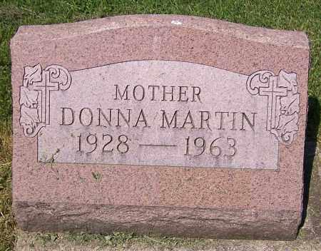 MARTIN, DONNA - Stark County, Ohio | DONNA MARTIN - Ohio Gravestone Photos