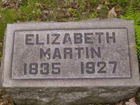 KITTINGER MARTIN, ELIZABETH - Stark County, Ohio | ELIZABETH KITTINGER MARTIN - Ohio Gravestone Photos