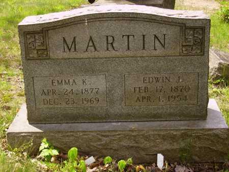MARTIN, EDWIN J. - Stark County, Ohio | EDWIN J. MARTIN - Ohio Gravestone Photos