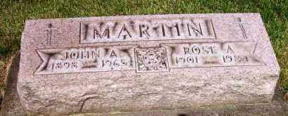 MARTIN, ROSE A. - Stark County, Ohio | ROSE A. MARTIN - Ohio Gravestone Photos