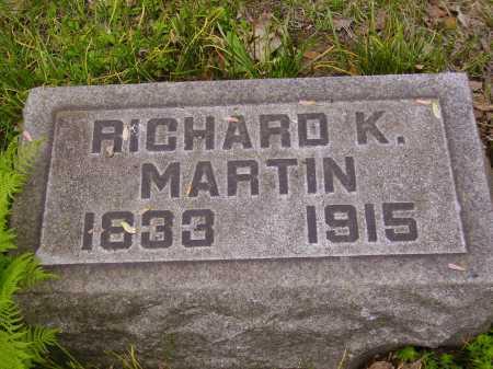 MARTIN, RICHARD K. - Stark County, Ohio | RICHARD K. MARTIN - Ohio Gravestone Photos