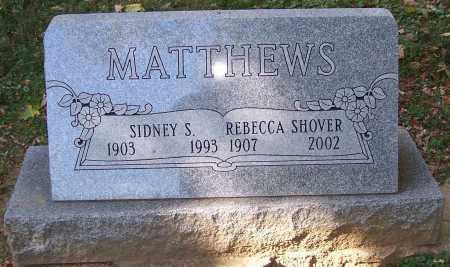 MATTHEWS, SIDNEY S. - Stark County, Ohio | SIDNEY S. MATTHEWS - Ohio Gravestone Photos