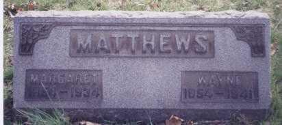 MATTHEWS, WAYNE - Stark County, Ohio | WAYNE MATTHEWS - Ohio Gravestone Photos