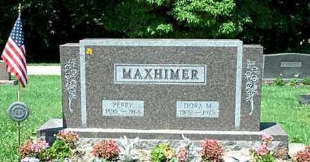 MAXHIMER, DORA - Stark County, Ohio | DORA MAXHIMER - Ohio Gravestone Photos
