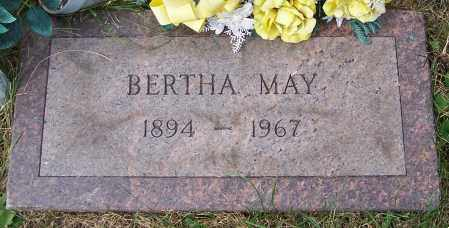 MAY, BERTHA - Stark County, Ohio | BERTHA MAY - Ohio Gravestone Photos