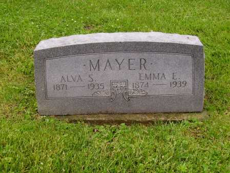 MAYER, ALVA SAMUEL - Stark County, Ohio | ALVA SAMUEL MAYER - Ohio Gravestone Photos