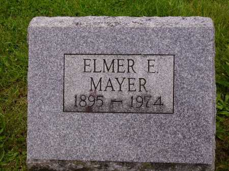 MAYER, ELMER E. - Stark County, Ohio | ELMER E. MAYER - Ohio Gravestone Photos
