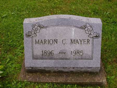 MAYER, MARION C. - Stark County, Ohio | MARION C. MAYER - Ohio Gravestone Photos