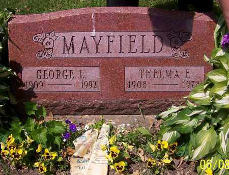 MAYFIELD, GEORGE L. - Stark County, Ohio | GEORGE L. MAYFIELD - Ohio Gravestone Photos