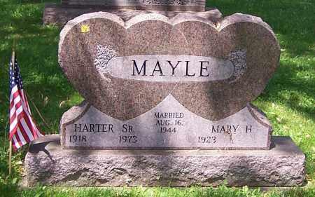 MAYLE, HARTER (SR) - Stark County, Ohio | HARTER (SR) MAYLE - Ohio Gravestone Photos