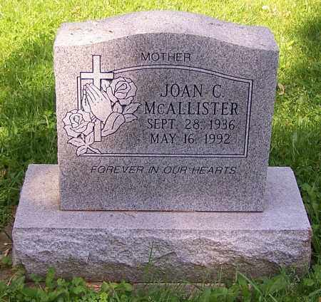 MCALLISTER, JOAN C. - Stark County, Ohio | JOAN C. MCALLISTER - Ohio Gravestone Photos