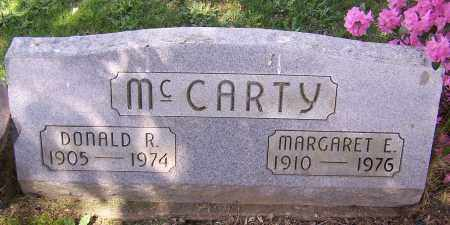 MCCARTY, MARGARET E. - Stark County, Ohio | MARGARET E. MCCARTY - Ohio Gravestone Photos